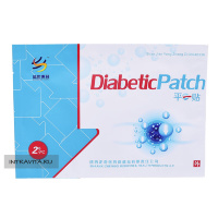 Diabetic Patch пластырь от сахарного диабета Shaanxi