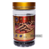 Кордицепс Chinese caterpillar fungus soft capsule Ou Fu Lai